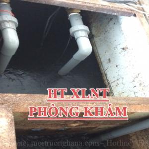 Xây dựng trạm xử lý nước thải cho Phòng khám đa khoa Trung Thanh - công suất 4 m3/ngày.đêm