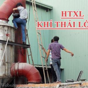 Xây dựng hệ thống xử lý khí thải lò hơi đốt củi cho Công ty TNHH Đông Phước - Công suất 3000 m3/h