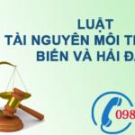 Luật Tài nguyên Môi trường Biển và Hải Đảo số 82/2015/QH13