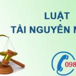 Luật tài nguyên nước số 17/2012/QH13