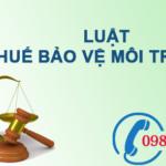 Luật thuế bảo vệ môi trường số 57/2010/QH12