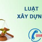 Luật xây dựng số 50/2014/QH13