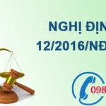 Nghị định về phí bảo vệ môi trường đối với khai thác khoáng sản số 12/2016/NĐ-CP