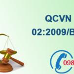 Quy chuẩn Việt nam về Chất lượng nước sinh hoạt số QCVN 02:2009/BYT