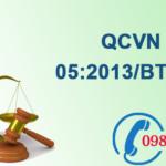 Quy chuẩn Việt nam về Chất lượng không khí xung quanh số QCVN 05:2013/BTNMT