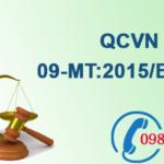 Quy chuẩn Việt nam về Chất lượng nước dưới đất số QCVN 09-MT:2015/BTNMT
