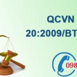 Quy chuẩn Việt nam về Nồng độ tối đa cho phép các chất hữu cơ trong khí thải công nghiệp số QCVN 20:2009/BTNMT