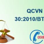 Quy chuẩn Việt nam về Khí thải lò đốt chất thải công nghiệp số QCVN 30:2010/BTNMT