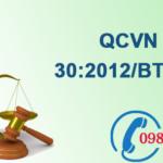 Quy chuẩn Việt nam về Lò đốt chất thải công nghiệp số QCVN 30:2012/BTNMT