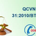 Quy chuẩn Việt nam về Môi trường phế liệu sắt, thép nhập khẩu số QCVN 31:2010/BTNMT