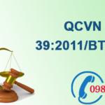 Quy chuẩn Việt nam về Chất lượng nước dùng cho tưới tiêu số QCVN 39:2011/BTNMT