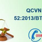 Quy chuẩn Việt nam về Nước thải công nghiệp sản xuất thép số QCVN 52:2013/BTNMT