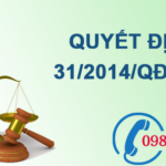 Quyết định về cơ chế hỗ trợ phát triển các dự án phát điện sử dụng chất thải rắn tại việt nam 2014 số 31/2014/QĐ-TTg