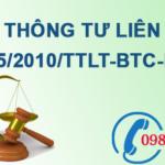 Thông tư liên tịch về việc quản lý kinh phí sự nghiệp môi trường số 45/2010/TTLT-BTC-BTNMT
