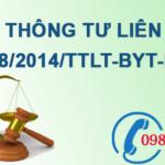 Thông tư liên tịch về bảo vệ môi trường đối với cơ sở y tế số 48/2014/TTLT-BYT-BTNMT