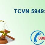 Tiêu chuẩn Việt nam về Âm học số TCVN 5949:1998