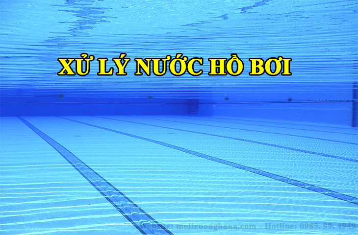 xử lý nước hồ bơi