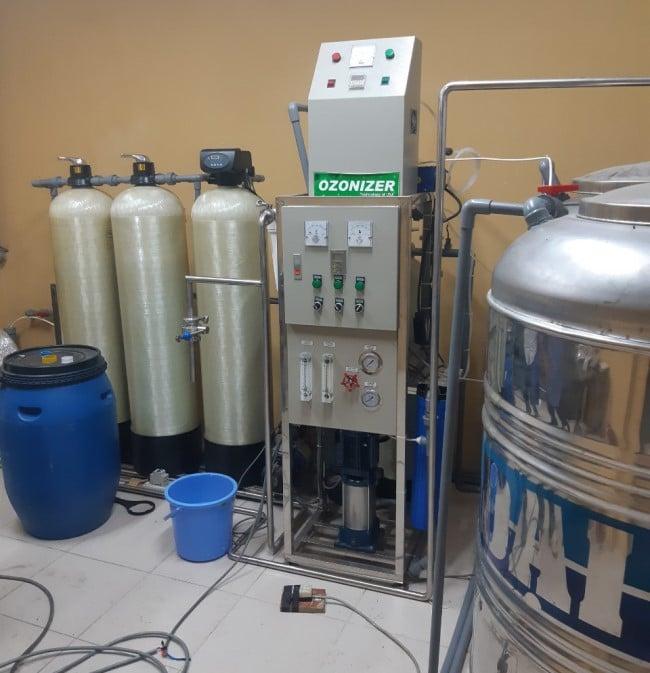 Hình ảnh hệ thống lọc nước tinh khiết đã lắp đặt của HANA