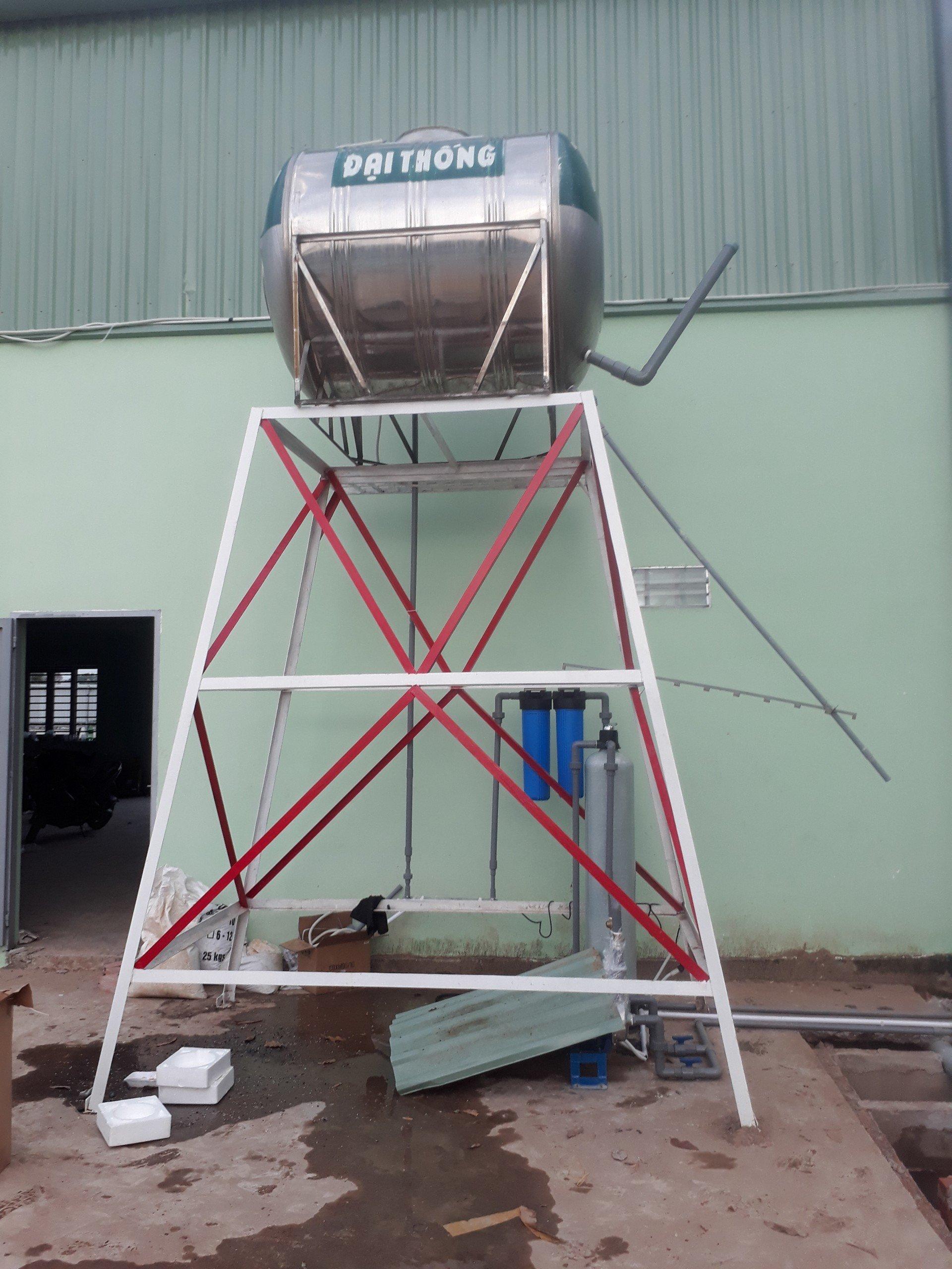 Hệ thống lọc nước cho khu dân cư