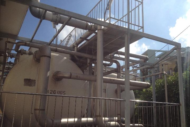 Hình ảnh hệ thống xử lý nước thải Bệnh viện Bình Dân