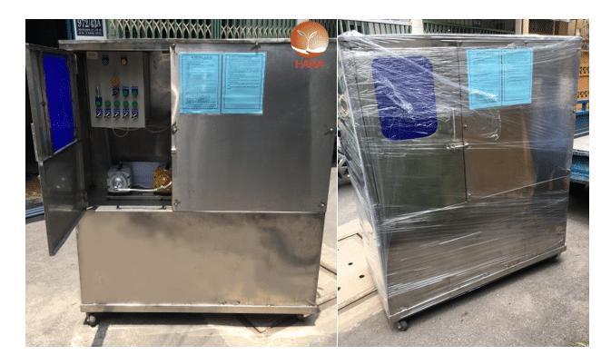 hình ảnh module xử lý nước thải quán ăn