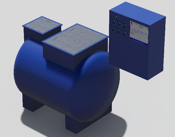 cung cấp module xử lý nước thải âm đất