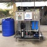 Hoàn thành công trình xử lý nước nhiễm mặn thứ 15 của HANA