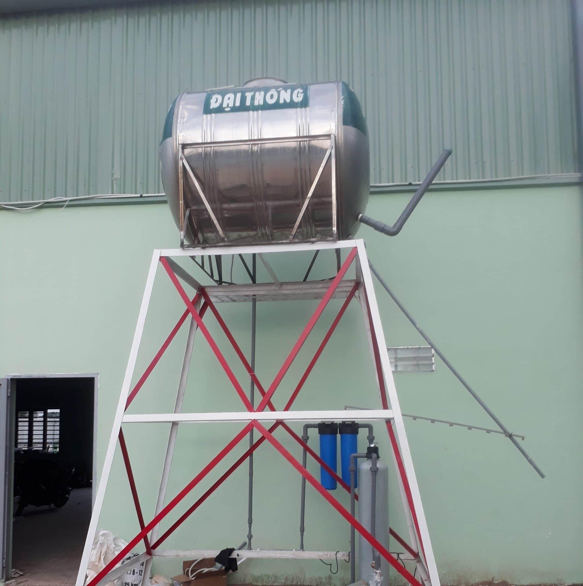 dự án xử lý nước thải nhà may sản xuất sơn