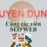 Tuyển dụng Cộng tác viên SEO Web
